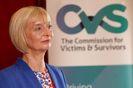 Victims and Survivors Commissioner Judith Thompson. Photo: William Cherry/Presseye