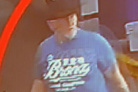 CCTV footage of 54 year old Malcolm McKeown in Waringstown before his murder on Monday