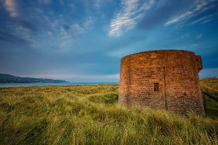 Martello Towers were built around the Irish and English coasts between 1804 and 1812 to guard against Napoleonic Invasion.