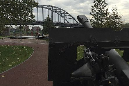 John Frost Bridge, which crosses the Lower Rhine at Arnhem, was named after the commander of the 2nd Parachute Battalion