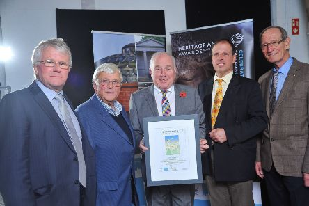 The Richhill Buildings Preservation Trust won the award for Best Major Regeneration of a Historic Building or Place for projects in excess of �2m. Pic: LiamMcArdle.com