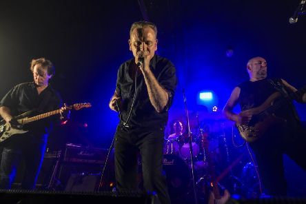 Northern Ireland rock band Silent Running, who toured with Simple Minds in the eighties, playing in Belfast venue Voodoo in June. Pic: Bruno Tamiozzo