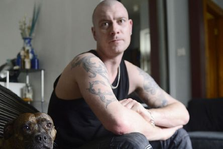 Army veteran Chris Bennett, from Belfast, told of his mental health struggles in the campaign