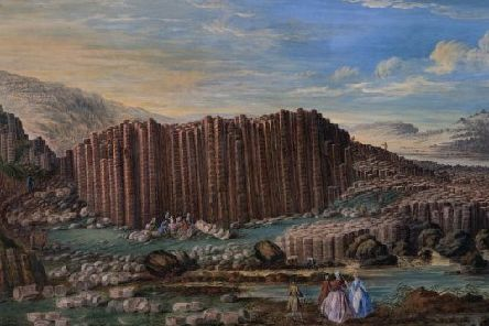 Susanna Drury (active 1733 ' 1770) East Prospect of the Giant's Causeway (c. 1739) � National Museums NI, Collection Ulster Museum