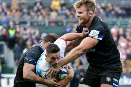 Ulster's John Cooney who scored a vital penalty to secure the win over Bath