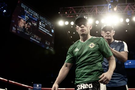 Carl Frampton defeated Tyler McCreery in Las Vegas.