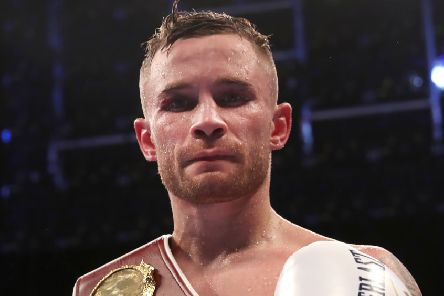 Boxer Carl Frampton is one of the signatories of the open letter to Robin Swann