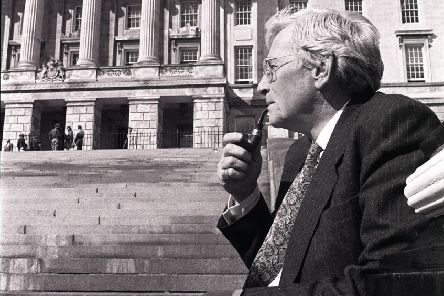 "Seamus Mallon at Stormont in 1991. He became deputy first minister in 1998. ""He was scathing about IRA violence and also blunt about unionist failings"" Picture Pacemaker"