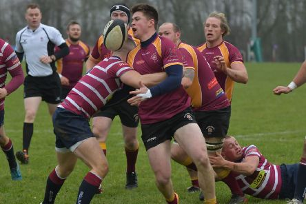 Action from Towcestrians' win over Shelford (Pictures: Dave Ikin)
