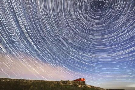 Night-time sky-watchers willing to brave the cold can look forward to a spectacular display of shooting stars. PIC: PA