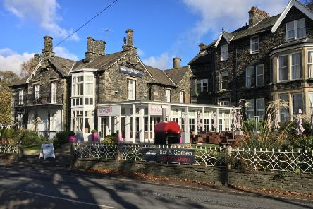The Waterhead hotel in Ambleside