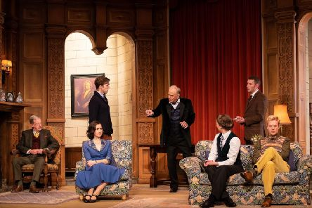 The cast of The Mousetrap. Picture: Joe Twigg Photography