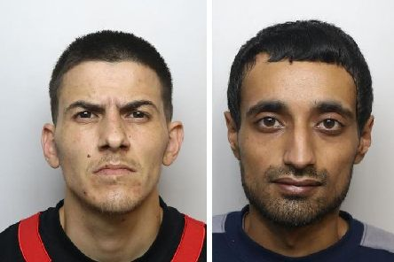 Daniel Quinn, left, has been found guilty of murder and Parminder Sanghera, left, has been convicted of manslaughter.