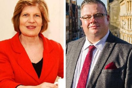 Labour's Sally Keeble and Gareth Eales have shared their thoughts on the issues splitting their party nationally.