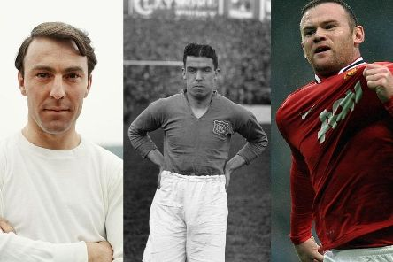Jimmy Greaves, Dixie Dean and Wayne Rooney are top scorers for Tottenham Hotspur, Everton and Manchester United respectively