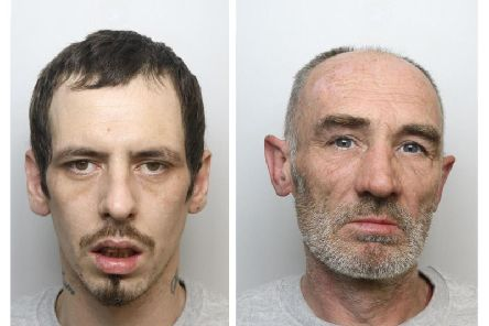 Kieron Long and Wayne Brown have been jailed for burgling a Northampton couple's home.