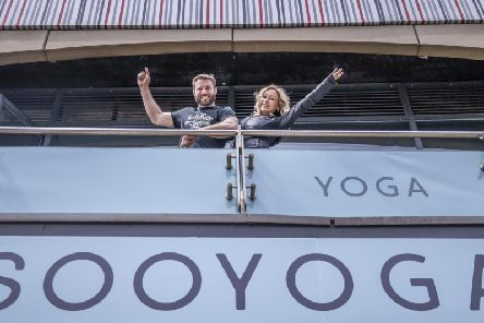 Ben Cohen and Kristina Rhianoff are set to open Soo Yoga on June 13.