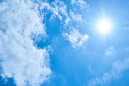 Northamptonshire will be as high as Ibiza this weekend with temperatures up to 25C