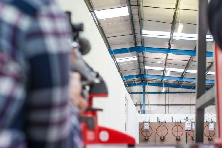 The indoor shooting range was granted planning permission