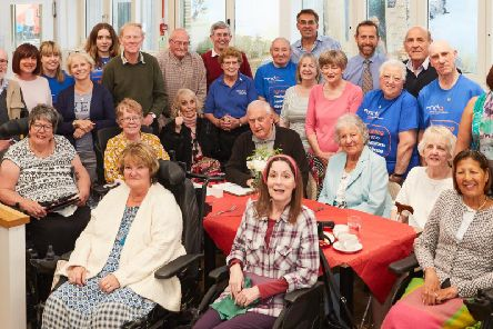 WPD hasgiven 1,055 to the Northampton branch of the Motor Neurone Disease Association to fund itsmonthly drop-in sessions at Dobbies in Wootton.