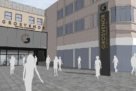 An artist's impression has teased a new look for the Grosvenor's Centre.