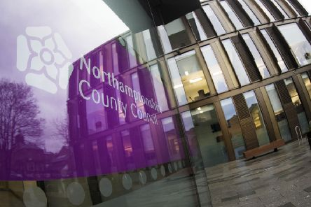 Northamptonshire County Council's base at One Angel Square, that opened in 2017 at a cost of 53m, but was sold because of the bankruptcy and leased back to the council