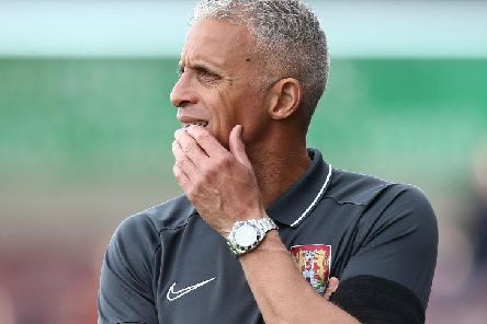 Keith Curle got his tactics spot on as Cobblers completely nullified Newport. Picture: Pete Norton