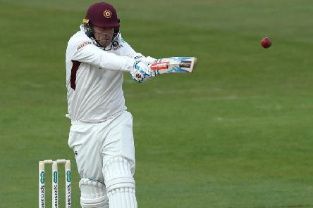 Adam Rossington produced a superb batting display for Northants