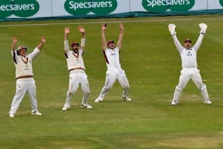 Northants beat Durham at the County Ground (pictures: Dave Ikin)