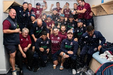 Northants claimed promotion from Specsavers County Championship in September
