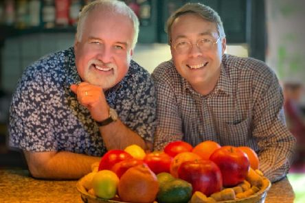 B&B owners Peter Pickering and Stephen George are over the moon to be given a second recognition in a national newspaper.