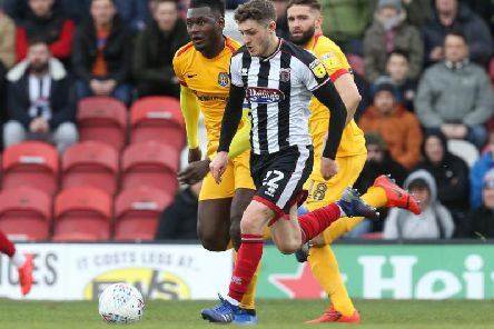 Neither Grimsby nor the Cobblers could break the deadlock during a drab goalless draw in their last meeting