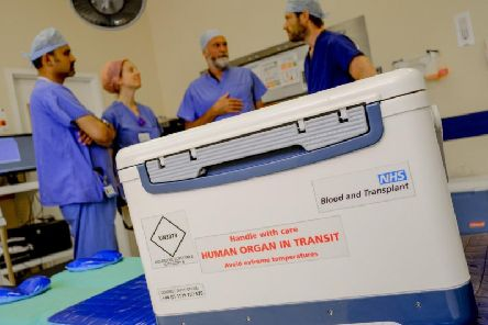 NHS Blood and Transplant want people to tell their families about their organ donation wishes