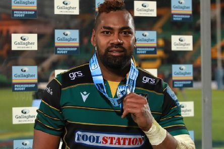 Taqele Naiyaravoro has been in superb form for Saints