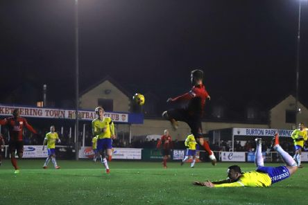 Kettering Town collected a fine 4-2 win over second-placed Stourbridge in midweek. Picture by Peter Short