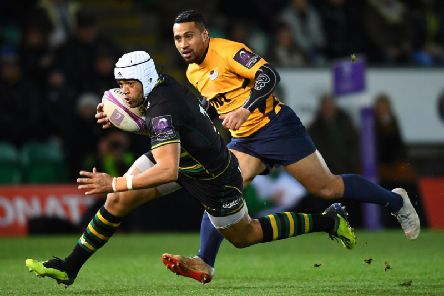 Luther Burrell is going back to rugby league