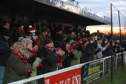 Marcus Law is hoping the Kettering Town fans will be out in force for this weekend's clash with Rushall Olympic at Latimer Park as they bid to make it six wins in a row