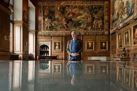 Be the first to see restored tapestry at Kettering stately home