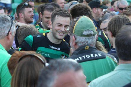 Stephen Myler left Saints for London Irish last summer