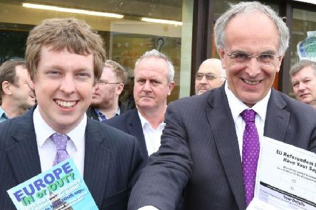 Corby MP Tom Pursglove and Wellingborough MP Peter Bone have consistently campaigned in favour of Brexit