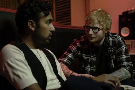 Ed Sheeran appears as himself in the new film Yesterday, which stars former Prince William School pupil Himesh Patel.'(Photo: Universal film still, UPI Image via www.upimedia.com)
