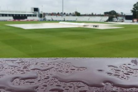 Northants' clash with Leicestershire fell victim to the weather
