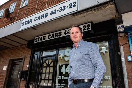 Adrian Connery runs Star Cars in Corby.