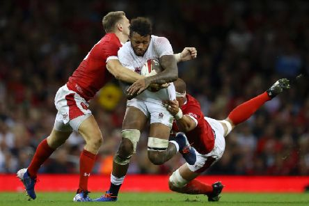 Courtney Lawes will be among the replacements after starting in the back row against Wales last weekend