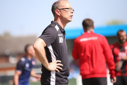 Andy Peaks saw his AFC Rushden & Diamonds side's 100 per cent start come to an end as they lost 3-1 at Stratford Town