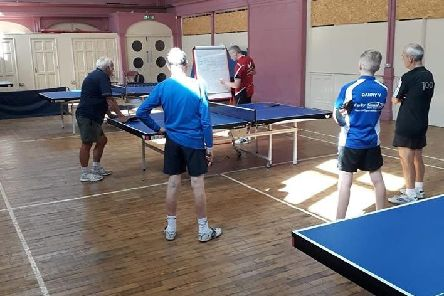 Kettering's new Smash Table Tennis club