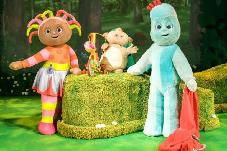 Live action from In The Night Garden