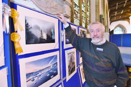 Peterborough Photographic Society annual show  at St John's church, Cathedral Square.