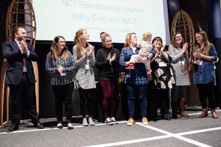 The NCT team at the awards event