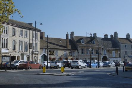 The location of the first Market Deeping Saturday market